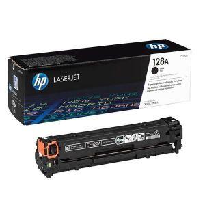 HP 128A Black Original LaserJet Toner Cartridge CE320A