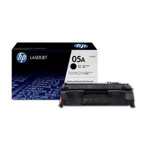 HP 05A Black Original LaserJet Toner Cartridge CE505A