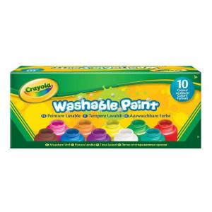 Crayola Set of 10 Washable Kids Paint