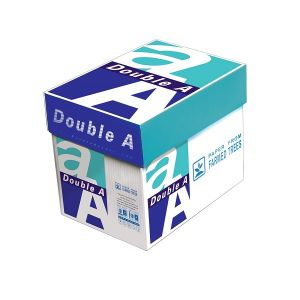 Double A Copy/Printer Paper, 8 1/2 in x 11 in , 22 Lb, 5 Ream Of 500 Sheets