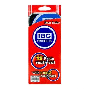 IBC 12 Piece Math Set (IBC-MS-01)