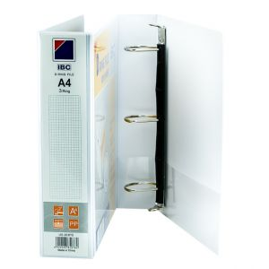 IBC D-Ring View Binder, 2 Inch, 3 Ring, White - (US-303PD)