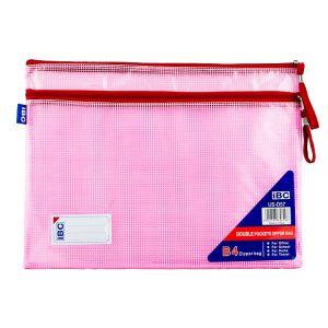 IBC Mesh Bag, Double Zipper, B4 (US-D57)