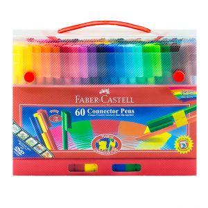 Faber Castell-Connector Pen Bucket Set (60 Colors)