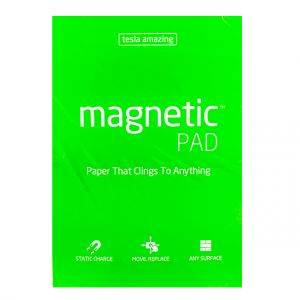 Tesla Amazing - Magnetic Pad - 50 Pages (A3) Green,10446