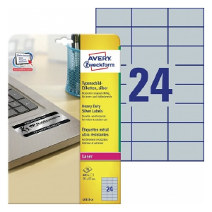 Avery Heavy Duty Labels , 480 Labels Per 8 Pages