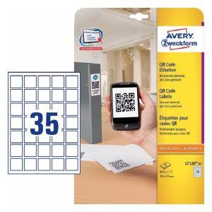 Avery Qr Code Labels , 825 Labels Per 25 Pages
