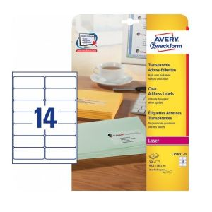 Avery Address Labels In A4 Sheet , 350 Labels Per 25 Pages