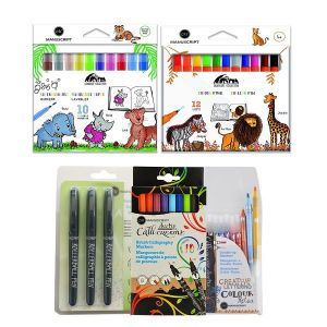 Manuscript Package With Color and  Pen
