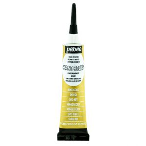 Pebeo Cerne Relief King Gold Color For Glass Painting 20 ml