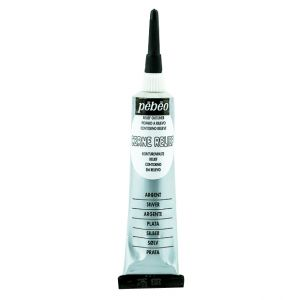 Pebeo Cerne Relief Sliver Color For Glass Painting 20 ml
