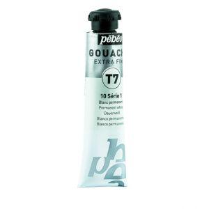 Pebeo Gouache Extra Fine White Color 20 ml
