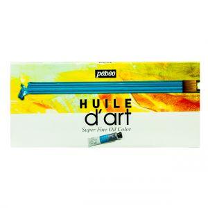 Pebeo Oil Colour Huile Fine Selection Set 10x37ml