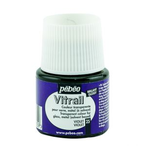Pebeo Vitrail Violet Color for Glass 45ml