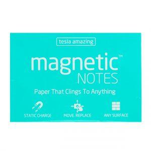 Tesla Amazing - Magnetic Notes - 100 Pages (M) Aqua