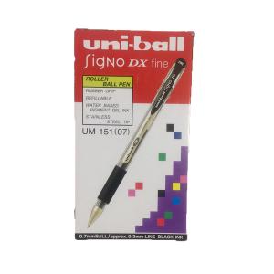 Uni-Ball Singo Dx Fine Black 1 Box 12 Pcs