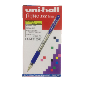 Uni-Ball Singo Dx Fine Blue 1 Box 12 Pcs