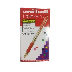 Uni-Ball Singo Dx Fine Red 1 Box 12 Pcs