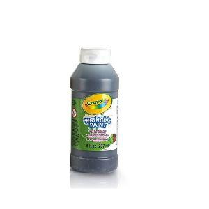 Crayola - Washable Paint, Black,  237ml